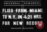 Image of Howard Hughes New York United States USA, 1936, second 7 stock footage video 65675071674