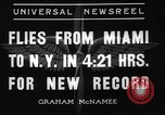 Image of Howard Hughes New York United States USA, 1936, second 8 stock footage video 65675071674
