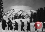 Image of ski racing Washington State United States USA, 1936, second 17 stock footage video 65675071676