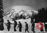 Image of ski racing Washington State United States USA, 1936, second 19 stock footage video 65675071676