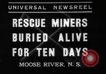 Image of Moose River Gold Mines Nova Scotia, 1936, second 7 stock footage video 65675071677