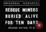 Image of Moose River Gold Mines Nova Scotia, 1936, second 10 stock footage video 65675071677