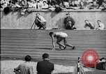 Image of 1936 Berlin Olympics relay race Berlin Germany, 1936, second 16 stock footage video 65675071687