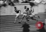 Image of 1936 Berlin Olympics relay race Berlin Germany, 1936, second 27 stock footage video 65675071687
