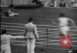 Image of 1936 Berlin Olympics relay race Berlin Germany, 1936, second 56 stock footage video 65675071687