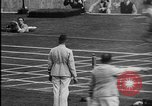 Image of 1936 Berlin Olympics relay race Berlin Germany, 1936, second 57 stock footage video 65675071687