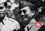 Image of 442nd Regimental Combat Team completes basic training Mississippi United States USA, 1942, second 36 stock footage video 65675071698