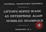 Image of America's Cup Newport Rhode Island USA, 1930, second 4 stock footage video 65675071700