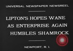 Image of America's Cup Newport Rhode Island USA, 1930, second 6 stock footage video 65675071700