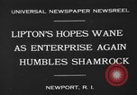 Image of America's Cup Newport Rhode Island USA, 1930, second 8 stock footage video 65675071700