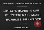 Image of America's Cup Newport Rhode Island USA, 1930, second 10 stock footage video 65675071700
