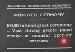 Image of Christian ceremony Munster Germany, 1930, second 5 stock footage video 65675071704