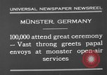 Image of Christian ceremony Munster Germany, 1930, second 6 stock footage video 65675071704