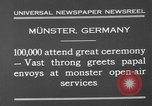 Image of Christian ceremony Munster Germany, 1930, second 7 stock footage video 65675071704