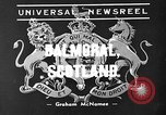 Image of King George VI Balmoral Scotland, 1939, second 2 stock footage video 65675071712