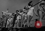 Image of beauty contest Venice Beach Los Angeles California USA, 1939, second 10 stock footage video 65675071714