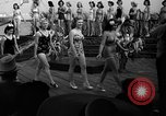 Image of beauty contest Venice Beach Los Angeles California USA, 1939, second 30 stock footage video 65675071714