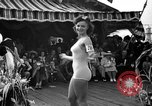 Image of beauty contest Venice Beach Los Angeles California USA, 1939, second 33 stock footage video 65675071714