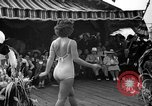 Image of beauty contest Venice Beach Los Angeles California USA, 1939, second 35 stock footage video 65675071714