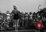 Image of beauty contest Venice Beach Los Angeles California USA, 1939, second 39 stock footage video 65675071714