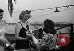Image of beauty contest Venice Beach Los Angeles California USA, 1939, second 45 stock footage video 65675071714