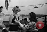Image of beauty contest Venice Beach Los Angeles California USA, 1939, second 46 stock footage video 65675071714