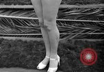 Image of beauty contest Venice Beach Los Angeles California USA, 1939, second 48 stock footage video 65675071714