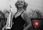 Image of beauty contest Venice Beach Los Angeles California USA, 1939, second 53 stock footage video 65675071714