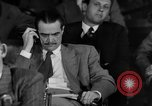 Image of Senate War Investigating Subcommittee hearings with Howard Hughes Washington DC USA, 1947, second 10 stock footage video 65675071722