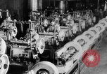 Image of Assembling engines in an Studebaker automobile plant South Bend Indiana USA, 1920, second 43 stock footage video 65675071729
