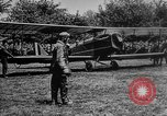 Image of President Woodrow Wilson at the first regular air mail service ceremon United States USA, 1918, second 6 stock footage video 65675071735