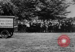 Image of President Woodrow Wilson at the first regular air mail service ceremon United States USA, 1918, second 12 stock footage video 65675071735