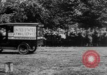 Image of President Woodrow Wilson at the first regular air mail service ceremon United States USA, 1918, second 13 stock footage video 65675071735