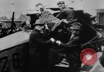 Image of President Woodrow Wilson at the first regular air mail service ceremon United States USA, 1918, second 18 stock footage video 65675071735