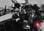 Image of President Woodrow Wilson at the first regular air mail service ceremon United States USA, 1918, second 19 stock footage video 65675071735