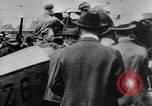 Image of President Woodrow Wilson at the first regular air mail service ceremon United States USA, 1918, second 23 stock footage video 65675071735