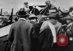 Image of President Woodrow Wilson at the first regular air mail service ceremon United States USA, 1918, second 24 stock footage video 65675071735