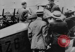 Image of President Woodrow Wilson at the first regular air mail service ceremon United States USA, 1918, second 25 stock footage video 65675071735