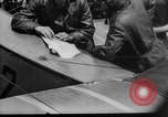 Image of President Woodrow Wilson at the first regular air mail service ceremon United States USA, 1918, second 31 stock footage video 65675071735