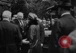 Image of President Woodrow Wilson at the first regular air mail service ceremon United States USA, 1918, second 46 stock footage video 65675071735