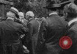 Image of President Woodrow Wilson at the first regular air mail service ceremon United States USA, 1918, second 48 stock footage video 65675071735