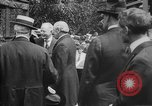 Image of President Woodrow Wilson at the first regular air mail service ceremon United States USA, 1918, second 49 stock footage video 65675071735