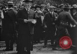 Image of President Woodrow Wilson at the first regular air mail service ceremon United States USA, 1918, second 50 stock footage video 65675071735