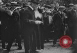 Image of President Woodrow Wilson at the first regular air mail service ceremon United States USA, 1918, second 51 stock footage video 65675071735