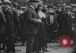Image of President Woodrow Wilson at the first regular air mail service ceremon United States USA, 1918, second 53 stock footage video 65675071735