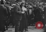 Image of President Woodrow Wilson at the first regular air mail service ceremon United States USA, 1918, second 54 stock footage video 65675071735