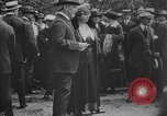 Image of President Woodrow Wilson at the first regular air mail service ceremon United States USA, 1918, second 55 stock footage video 65675071735