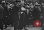 Image of President Woodrow Wilson at the first regular air mail service ceremon United States USA, 1918, second 57 stock footage video 65675071735