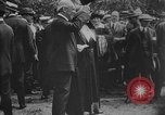 Image of President Woodrow Wilson at the first regular air mail service ceremon United States USA, 1918, second 58 stock footage video 65675071735