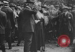 Image of President Woodrow Wilson at the first regular air mail service ceremon United States USA, 1918, second 59 stock footage video 65675071735